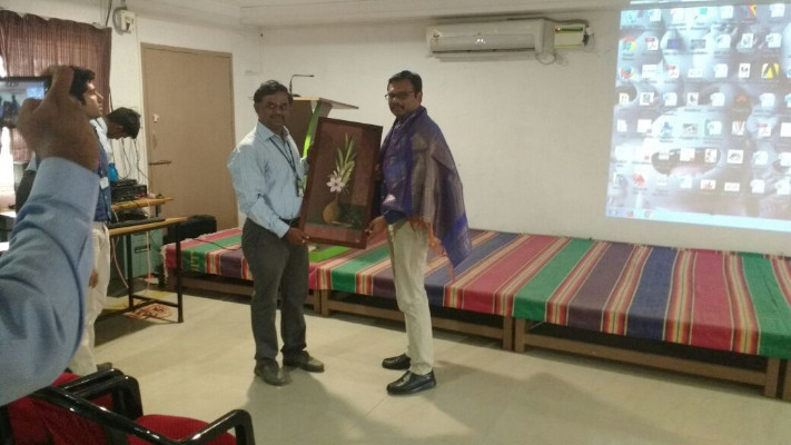 THE DEPARTMENT OF MECHANICAL ENGINEERING ORGANIZED A GUEST LECTURE